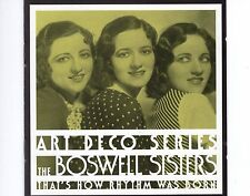 CD THE BOSWELL SISTERS that's how rhythm was born 1995 EX+