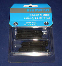 FULL SET Genuine Shimano R55C4 Ultegra, Dura Ace, 105 Road Bike Brake Pads