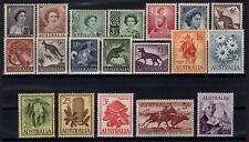 P134140/ AUSTRALIA / LOT 1959 – 1963 MINT MNH CV 170 $