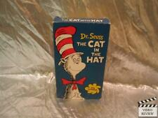Dr. Seuss The Cat In The Hat VHS Animated