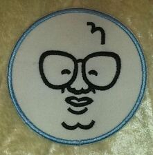 """Chicago Cubs Harry Caray 3"""" Iron On Embroidered Patch ~FREE SHIP!~"""