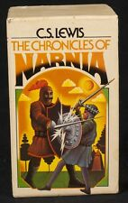 Vtg 70 CS Lewis Chronicles Of Narnia Book Set Paperback Complete 1st Ed. Collier