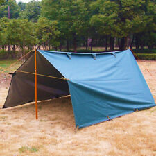 3x3.2M MILITARY Waterproof Sunshade Rain Tarp Shelter Awning Camping Beach Tent