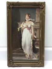 """Queen Louise of Prussia Framed Print 15"""" x 7-3/4"""" w/ Antique Frame 18"""" x 10-1/2"""""""
