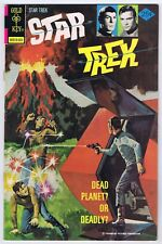 Star Trek #28 FineFine+ 1975 WPOWP Vintage Bronze Age Gold Key TOS