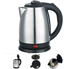 Wasserkocher Edelstahl kabellos 1,7L 2200W Teekocher Teekessel Wasseraufbereiter