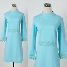 Vintage 1960s 1970s dress MOD RETRO MAD MEN