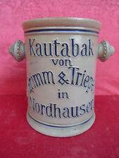 schöner,alter Steinguttopf__Kautabaktopf__Grimm & Triepel__!