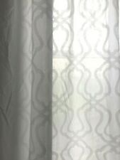 Luxurious Curtain White Fabric ONLY £6.50 per Meter-Double wide 300cm/118 inch !