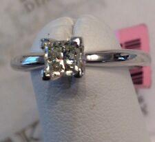 14k Princess Cut Diamond Solitaire Engagement ring .52 ct M-I1 size 5.75