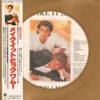 Wham! Make It Big Epic 32 3P-574 LP Japan OBI INSERT