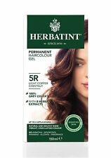 HERBATINT HERBAL NATURAL HAIR DYE LIGHT COPPER CHESTNUT 5R 150ml - AMMONIA FREE