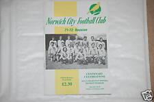Norwich V Sheffield United Programa 3rd Feb 2002