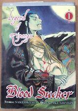 Blood Sucker: Legend of Zipangu n. 1 di Saki Okuse ed.Jpop * NUOVO! * Sconto 50%