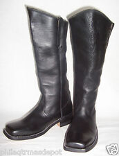 Cavalry Boots - Size 9 - Black Leather - Highest Quality! - Civil War