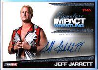 TNA Jeff Jarrett 2011 Tristar Signature Impact Silver Autograph Card SN 85 of 99