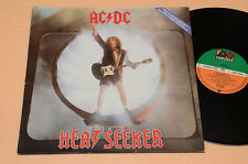 "ac dc 12"" heatseeker LIMITED EDITION GATEFOLD ONLY COLLECTORS MONSTER RARE"