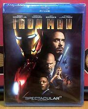 IRON MAN ~ Blu-Ray *New *Factory Sealed ~ Original 2008 RARE!