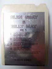 K7 - 8 track - GLEN GRAY & BILLY MAY - VOL 5 - ATHENA - US
