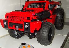 LEGO 2.056 TECHNIC ELEMENTE mit RC-TECHNIK 5 Motore MOC UNIKAT EIGENBAU KG  TOP