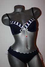 """Triumph gefütterter Bügel Bikini """"Sand & Sea CTOWP 02"""" dunkelblau 38 C Mini 38"""