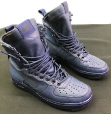 NIKE W SF AF1 BINARY BLUE BLUE - BLACK 857872 400 Sz 9 Pre-OWNED Air Force 1