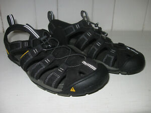 KEEN Men's Clearwater CNS Black/Gargoyle Synthetic Watersport Sandal Sz 10