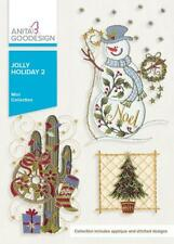 Jolly Holiday 2 Anita Goodesign Embroidery Machine Design CD