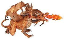 Deux Têtes Dragon Doré 20 5 cm Fantaisie Papo 38938