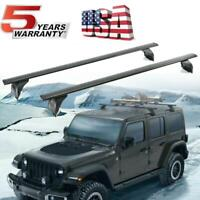 DOT Roof Rack Cross Bar Carrier OEM Replace For 18-19 Jeep Wrangler Hard Top JL