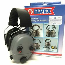 ELVEX ELECTRONIC EAR MUFF HEARING DEFENDERS INTELLIGENT FILTERS COM - 640