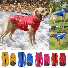 Waterproof Warm Winter Dog Coat Clothes Dog Padded Fleece Pet Vest Jacket XL-6XL