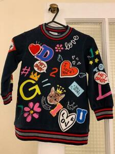 D&G (Dolce Gabanna) Kids 2-3 Years Kids Girls Sweat Dress