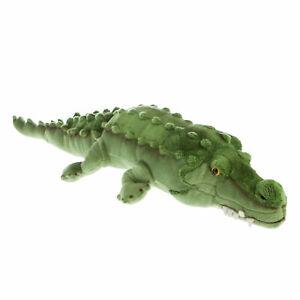 Bocchetta Plush Toys Long Green Crocodile Soft Plush Toy (80cm) - Named Agro
