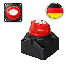 NEU Batterie Trennschalter Hauptschalter Notaus Poltrenner Schalter KFZ 12V-24V
