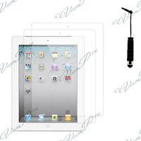 2x Films protection protecteur écran mini stylet  IPAD 3 2 4 Retina Nouvel iPad