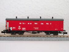 """SBB gedeckter Güterwagen 4achs. """"NESTLÉ"""" 550502 (2302) JURETIC Handarbeitsmodell"""