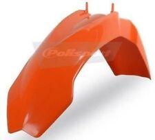 Parafanghi arancione anteriore per moto