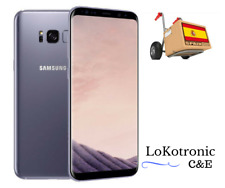 MOVIL SAMSUNG GALAXY S8 PLUS 64GB GRIS ORQUID, LIBRE Y TOTALMENTE NUEVO ¡OFERTA!