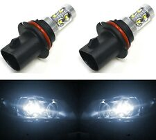 LED 50W 9007 HB5 White 5000K Two Bulbs Head Light Replacement Off Road Lamp