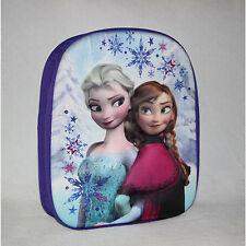 DISNEY sac à dos 3D LA REINE DES NEIGES Elsa  école  L 27 x H 32 x P 8 cm  neuf