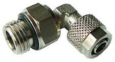 "B3-00629 - 10/8mm Tube OD/ID X 1/4"" BSPP Male Swivel Elbow"