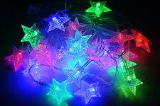 LED Lichterkette Weihnachtsbeleuchtung Deko weihnachten Party Kette Farbwechsel