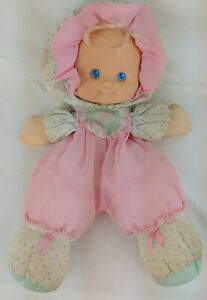 VINTAGE Fisher Price Pink Puffalump Kids Baby Doll 1990 Merri Used