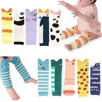 Autumn Winter Baby Boy Girl Cute Animal CrochetLeg Warmers Knee Length Socks Pr