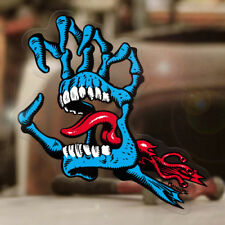Screaming skeleton mano sticker original pegatinas skate surf 175mm