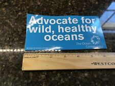 Scuba Diving Sticker Advocate For Wild Healthy Oceans. The Ocean Conservatory