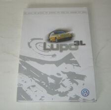 Press kit / Pressemappe - VW Lupo 3L - Stand 1999 !
