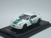 Nissan Skyline GT-R R35 Dubai Police 1/64 Diecast