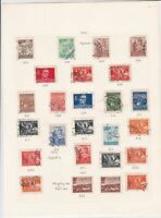 yugoslavia stamps page ref 16829
